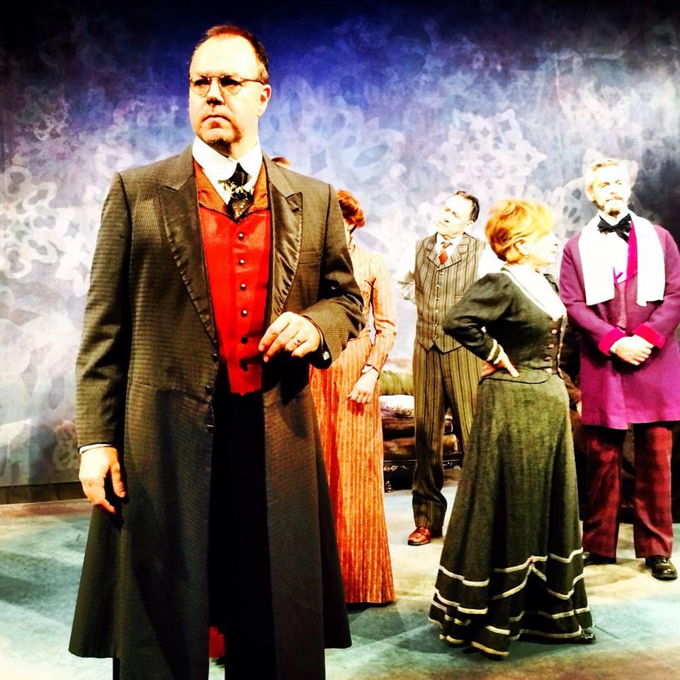 James Joyce's THE DEAD Cast, Dress Rehearsal