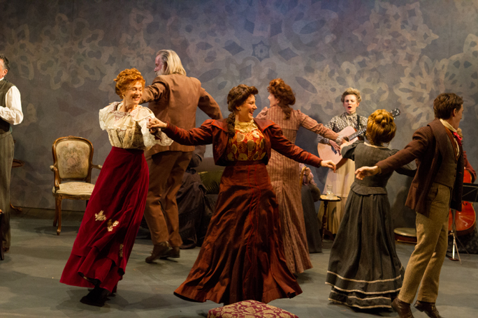 Christine Sang's Choreography, Open Fist Theater Company, James Joyce's The Dead
